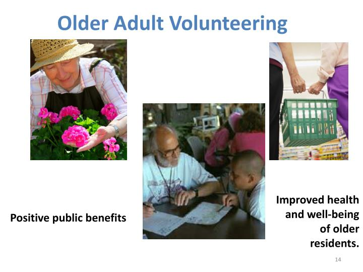 Older Adult Volunteering