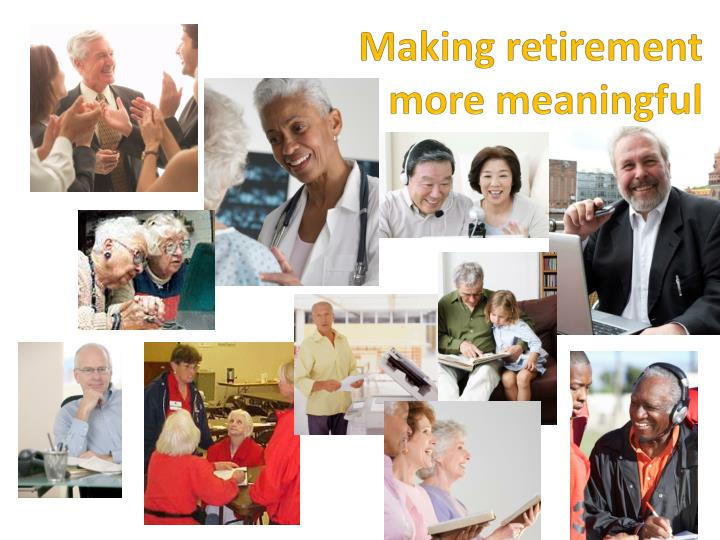 Making retirement
