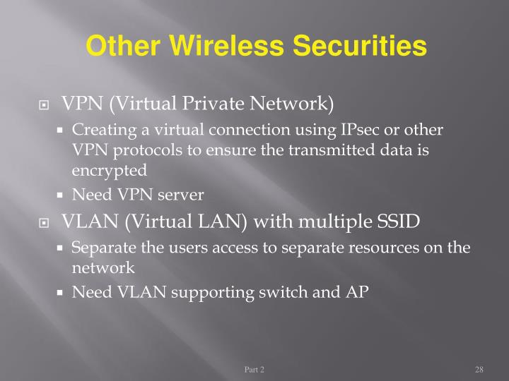 Other Wireless Securities