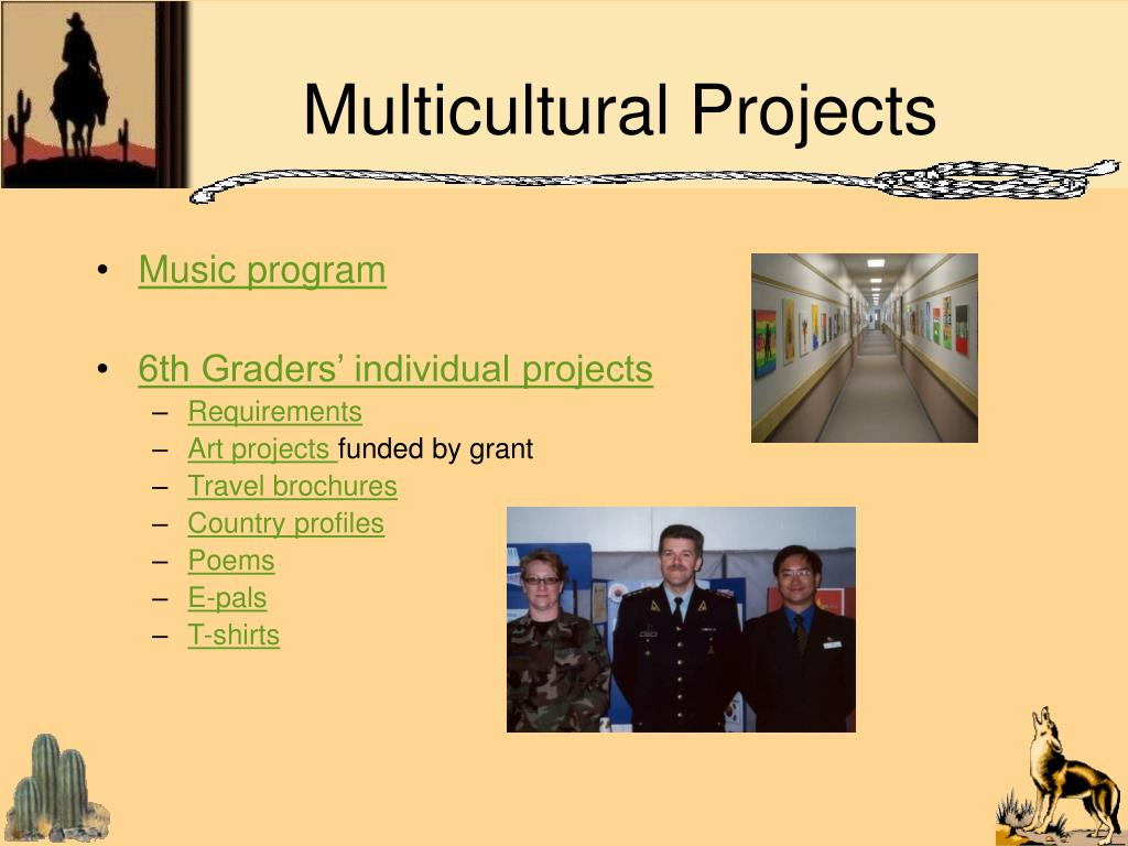 Multicultural Projects