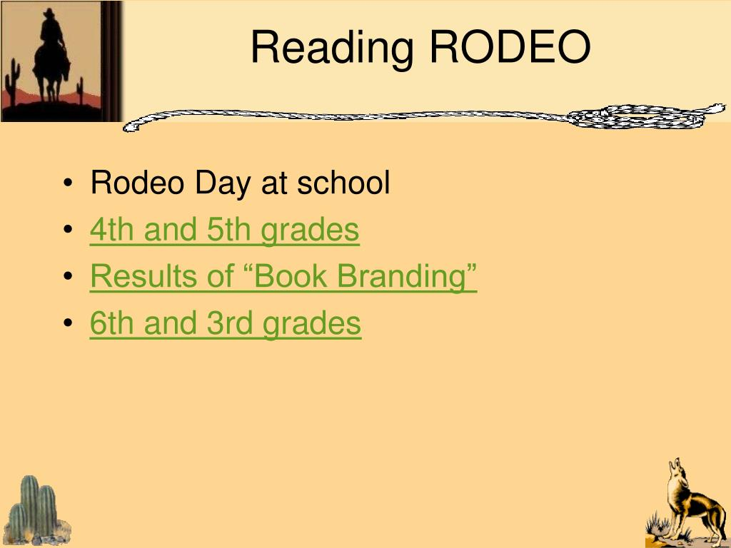 Reading RODEO