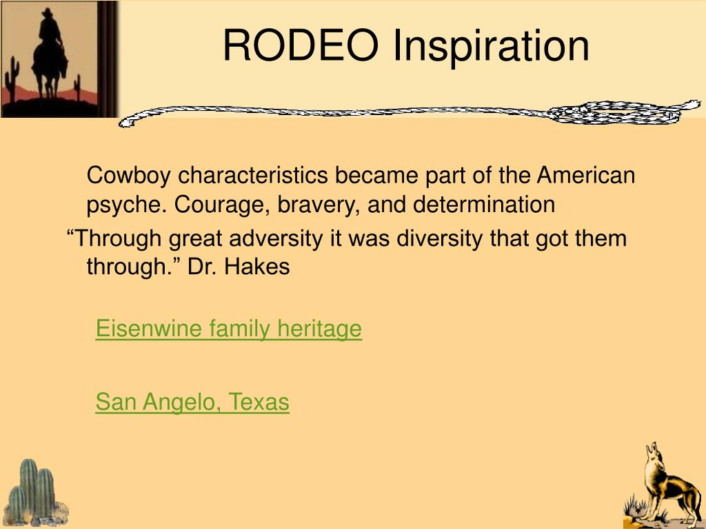 RODEO Inspiration