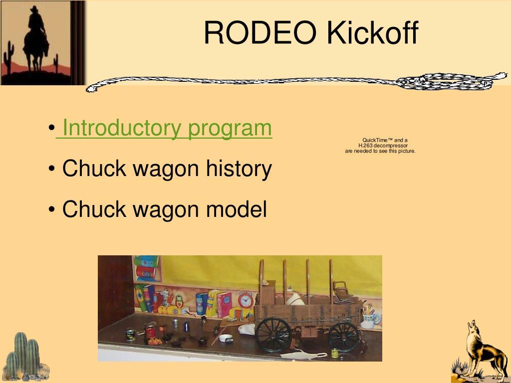 RODEO Kickoff