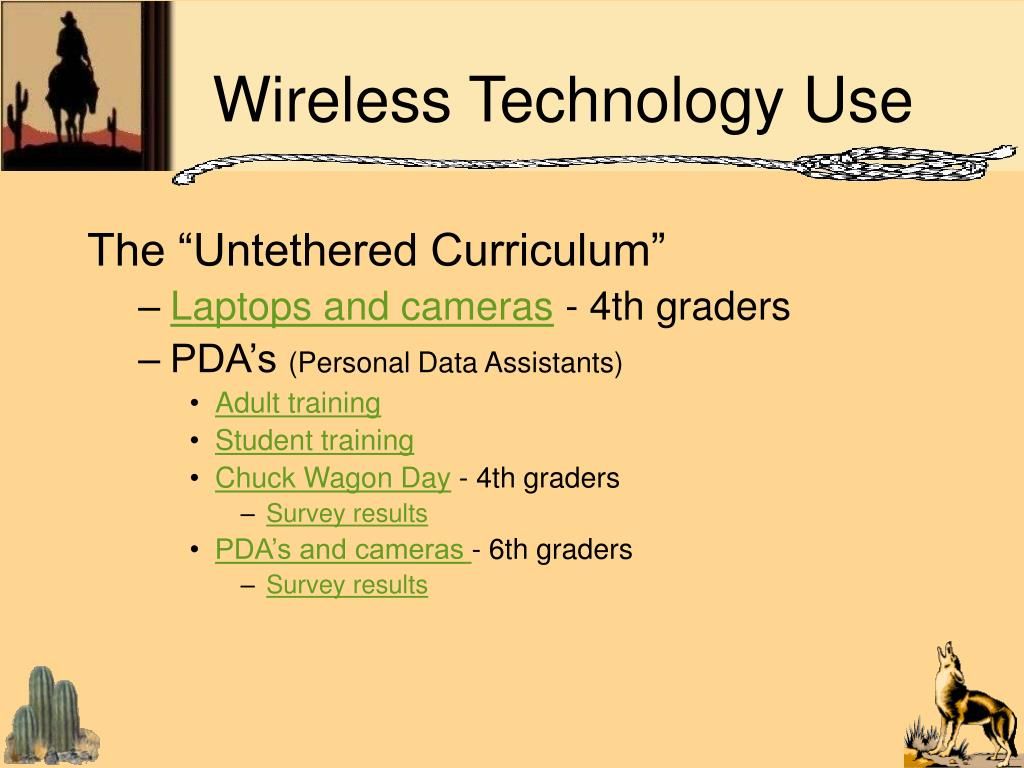 Wireless Technology Use