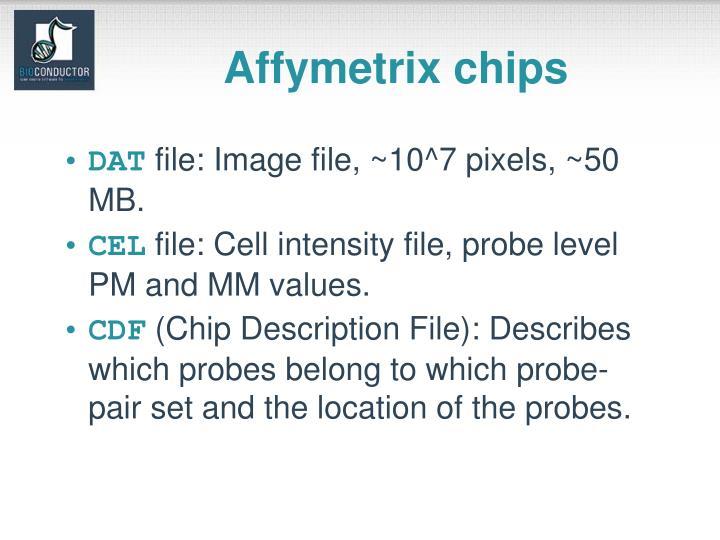 Affymetrix chips