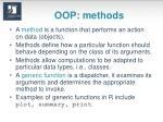 oop methods