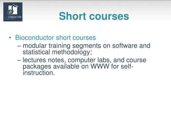 Short courses