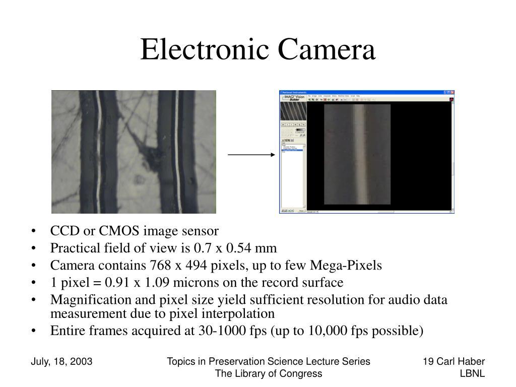 Electronic Camera