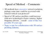 speed of method comments35