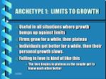 archetype 1 limits to growth1