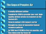 the saga of peoples air