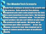 the wondertech scenario