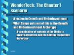 wondertech the chapter 7 scenario