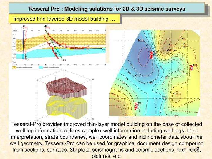 Tesseral Pro : Modeling solutions for