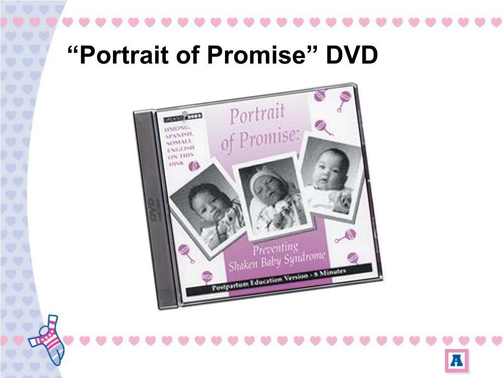 """Portrait of Promise"" DVD"