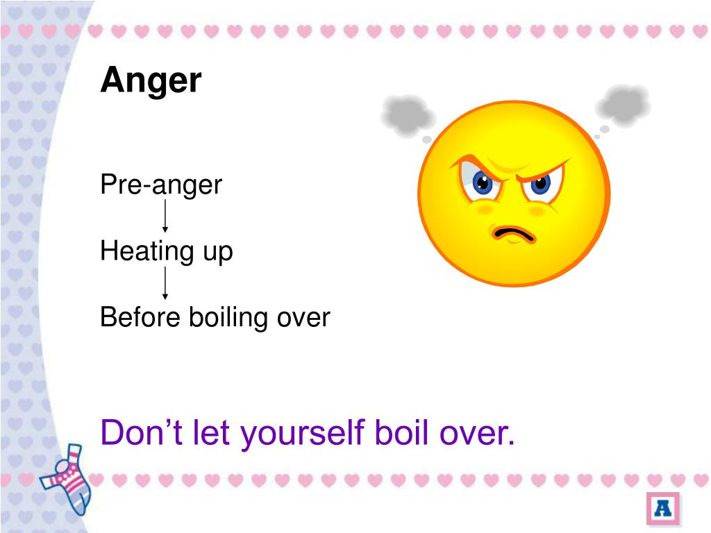 Pre-anger