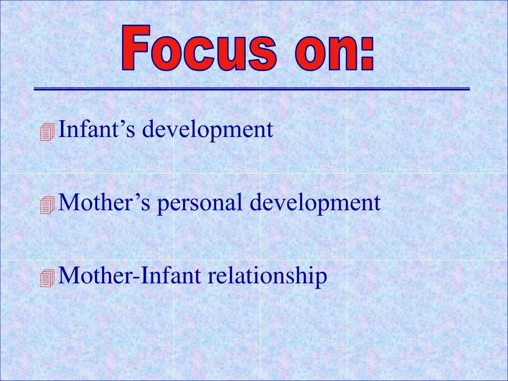 Focus on: