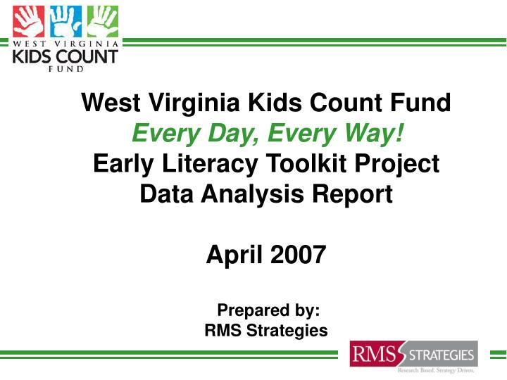 West Virginia Kids Count Fund