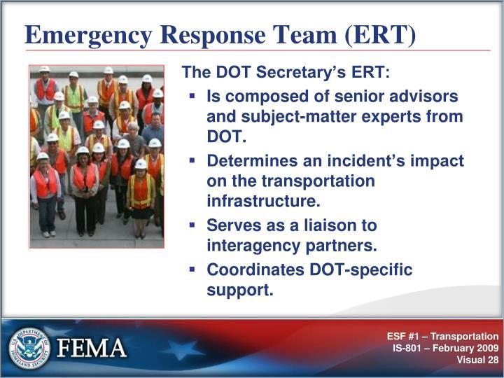 Emergency Response Team (ERT)