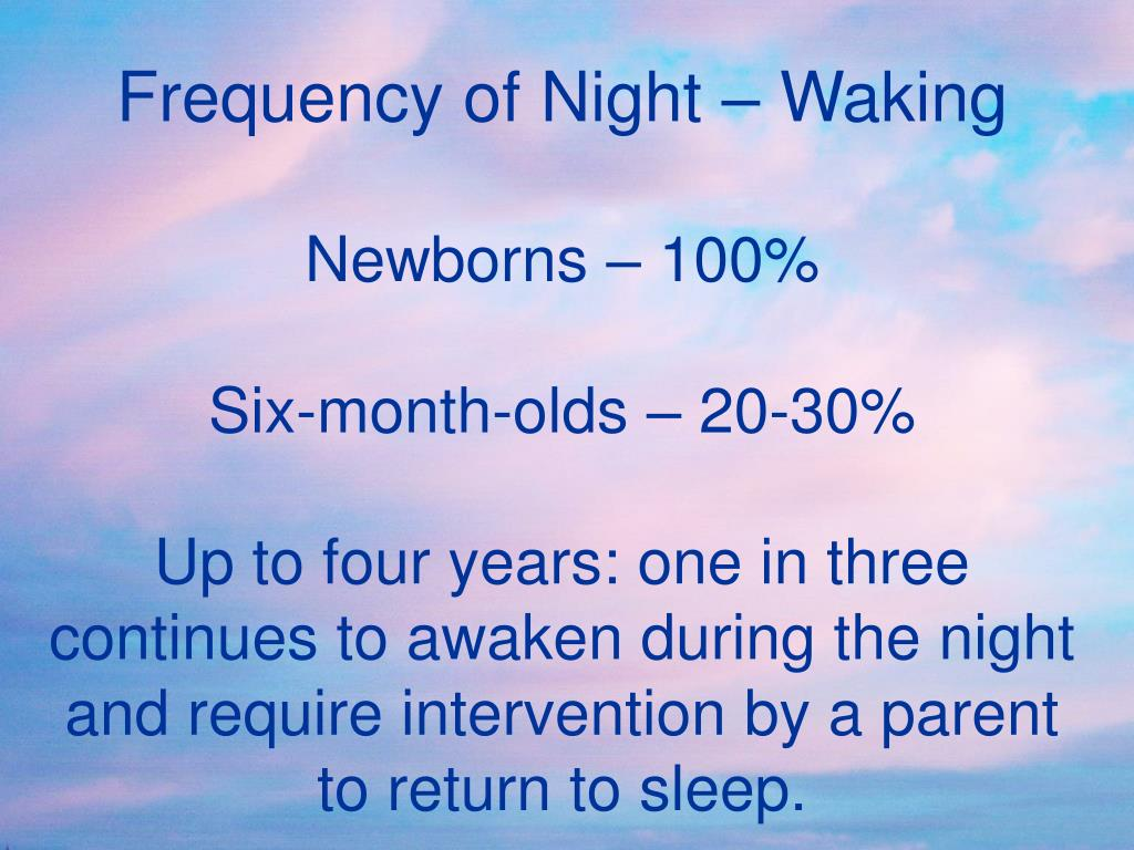 Frequency of Night – Waking