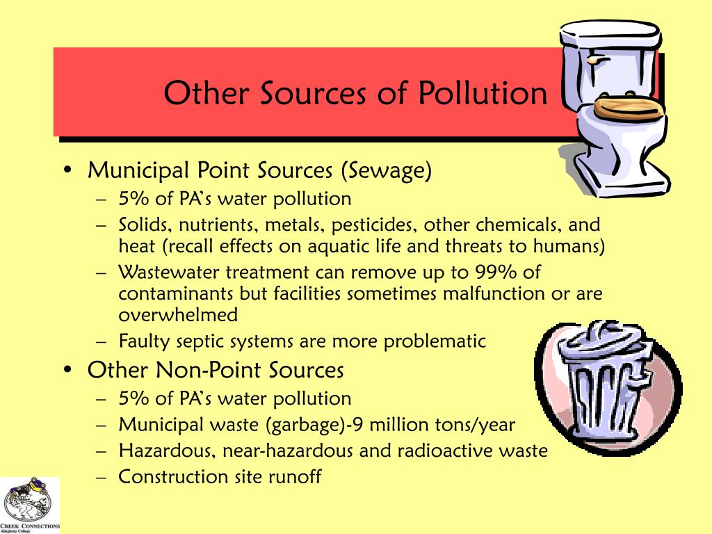 Other Sources of Pollution