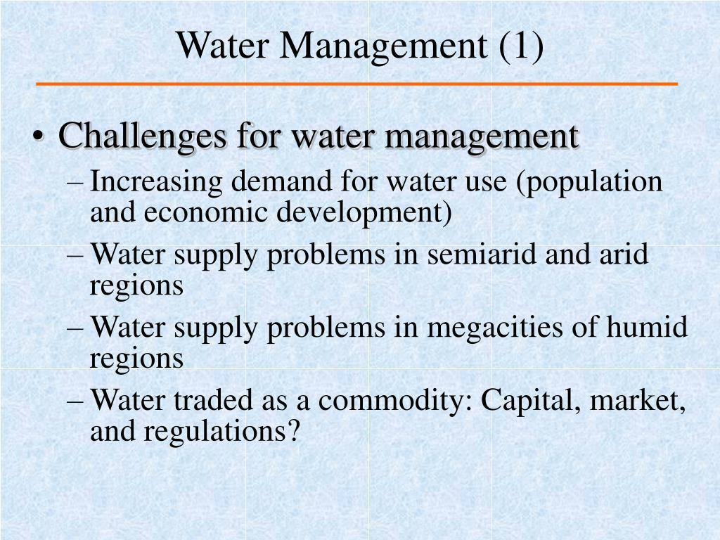 Water Management (1)