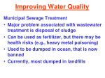 improving water quality32