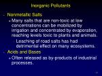 inorganic pollutants13