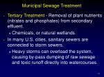 municipal sewage treatment33