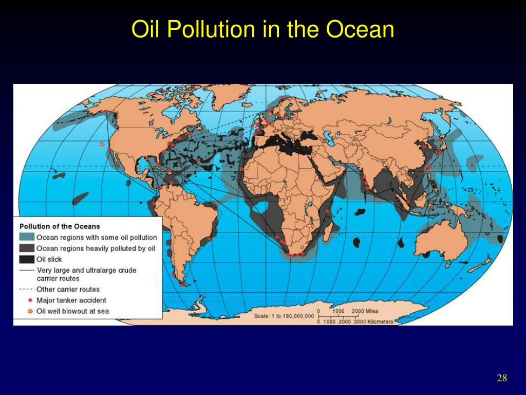 Oil Pollution in the Ocean