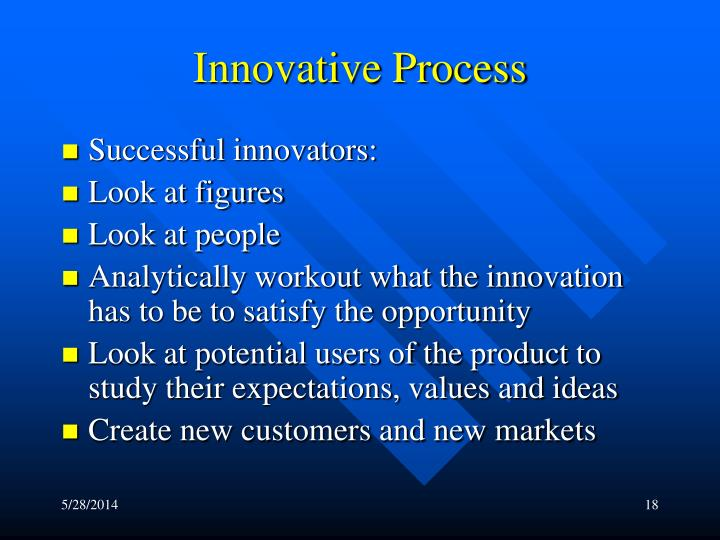 Innovative Process