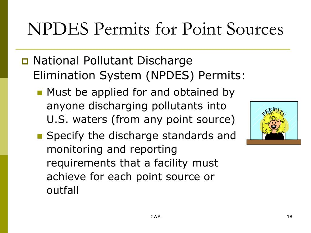 NPDES Permits for Point Sources