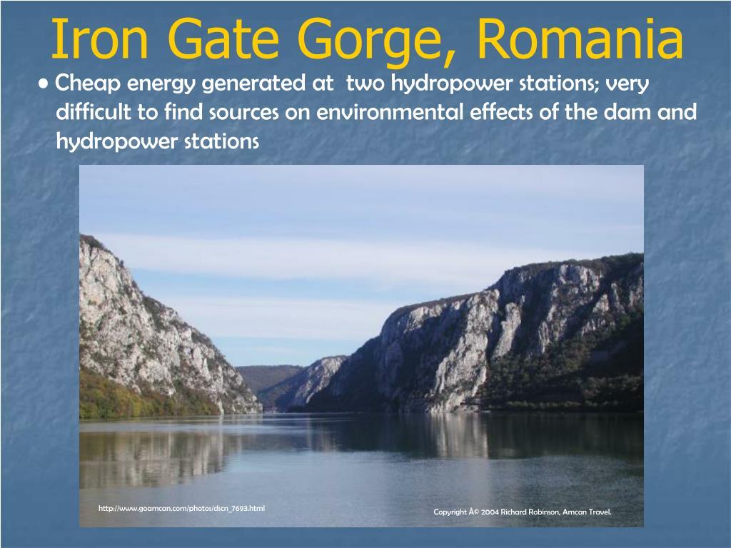 Iron Gate Gorge, Romania