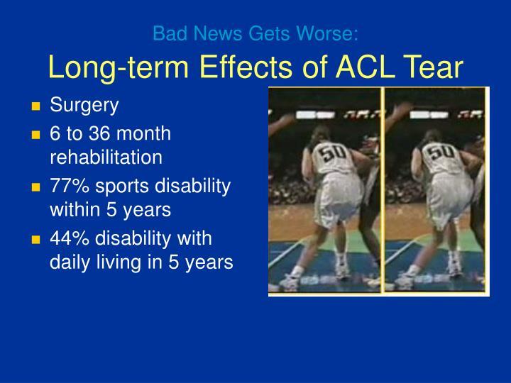 Bad News Gets Worse: