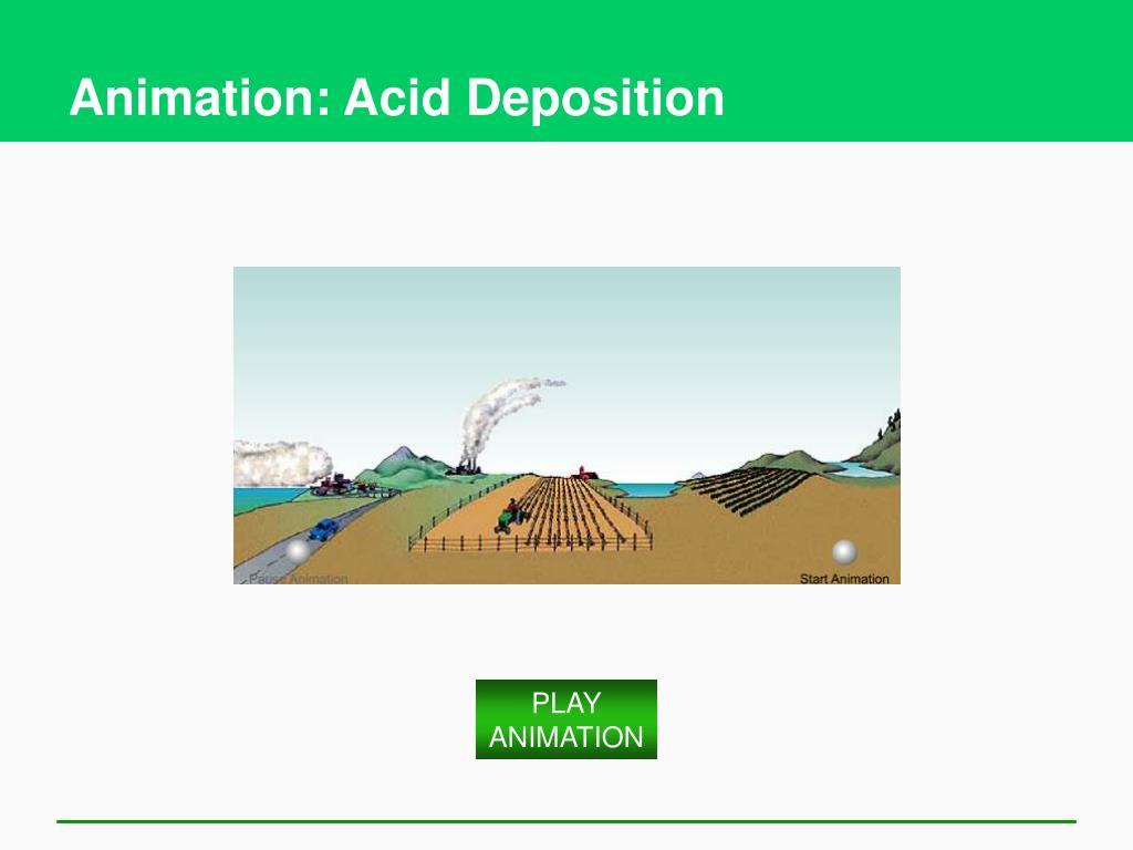 Animation: Acid Deposition