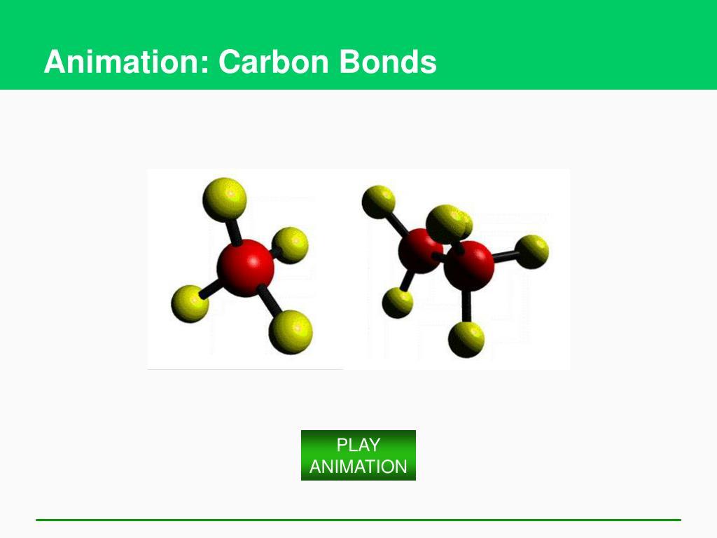 Animation: Carbon Bonds