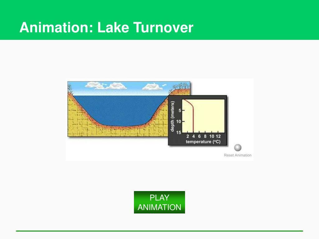 Animation: Lake Turnover