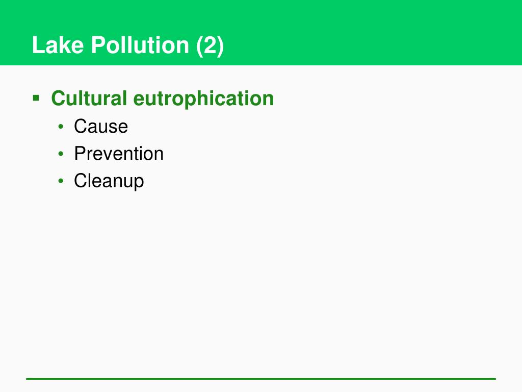 Lake Pollution (2)