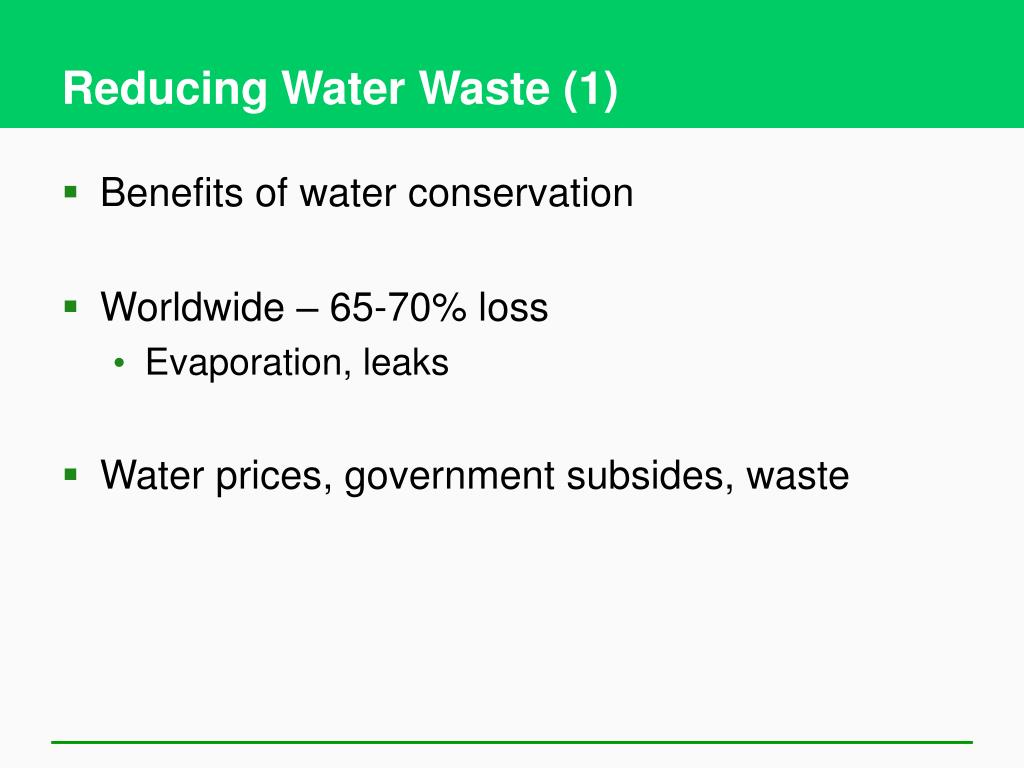 Reducing Water Waste (1)