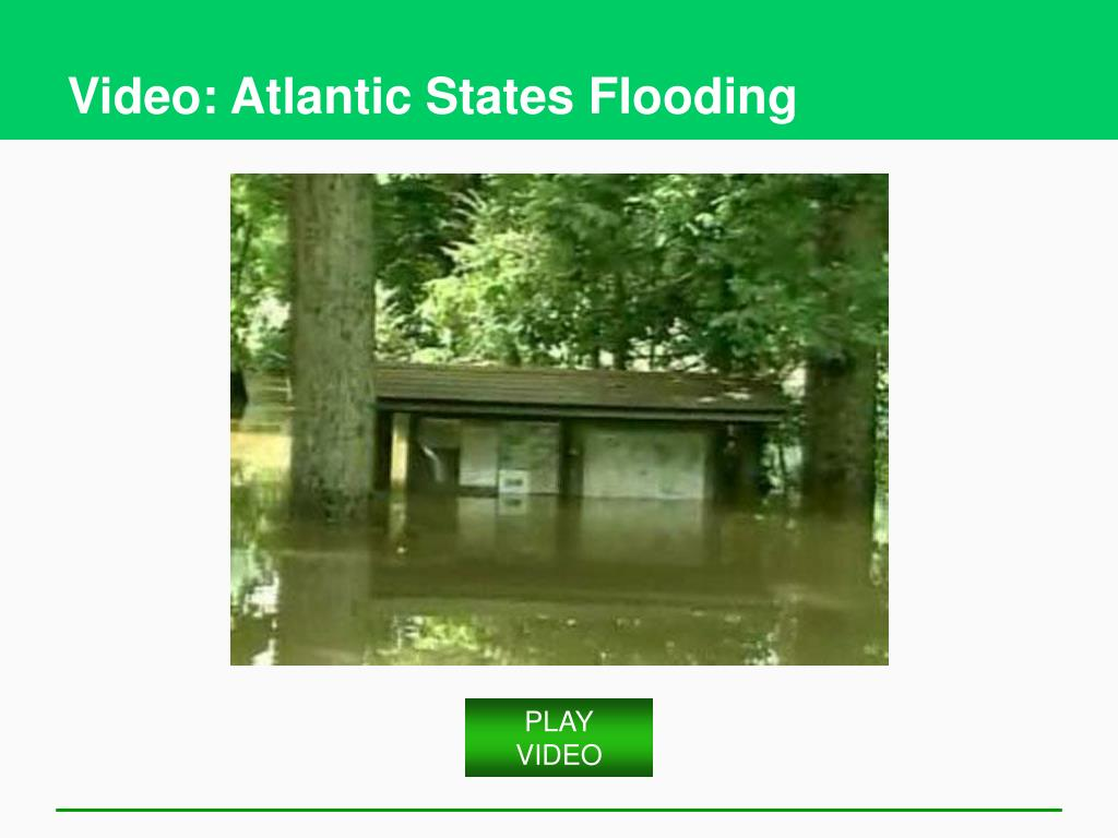 Video: Atlantic States Flooding