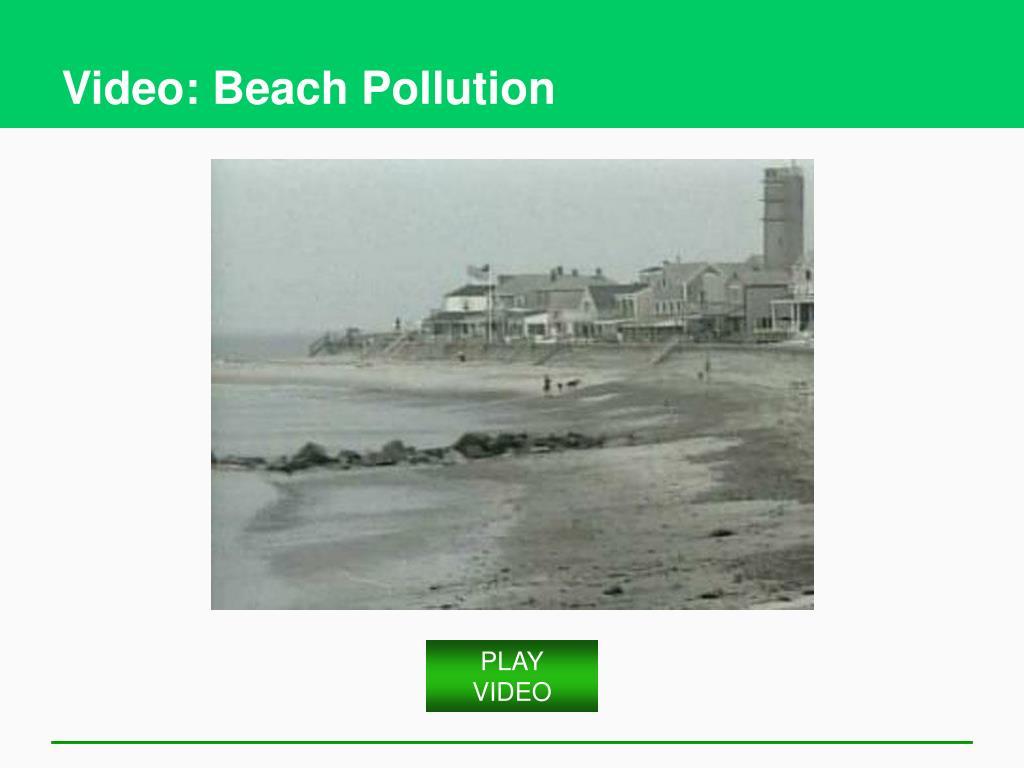 Video: Beach Pollution