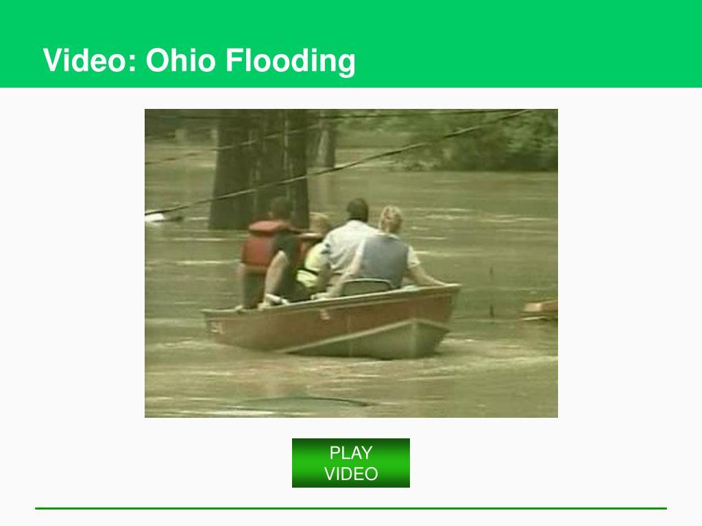 Video: Ohio Flooding