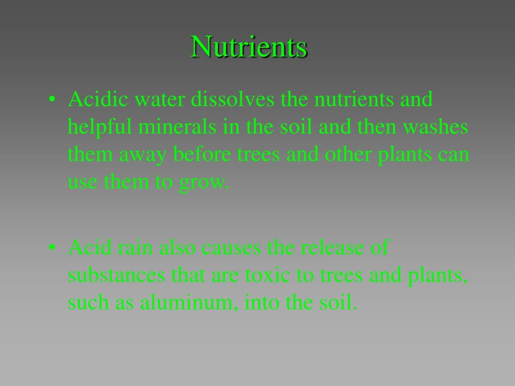Nutrients