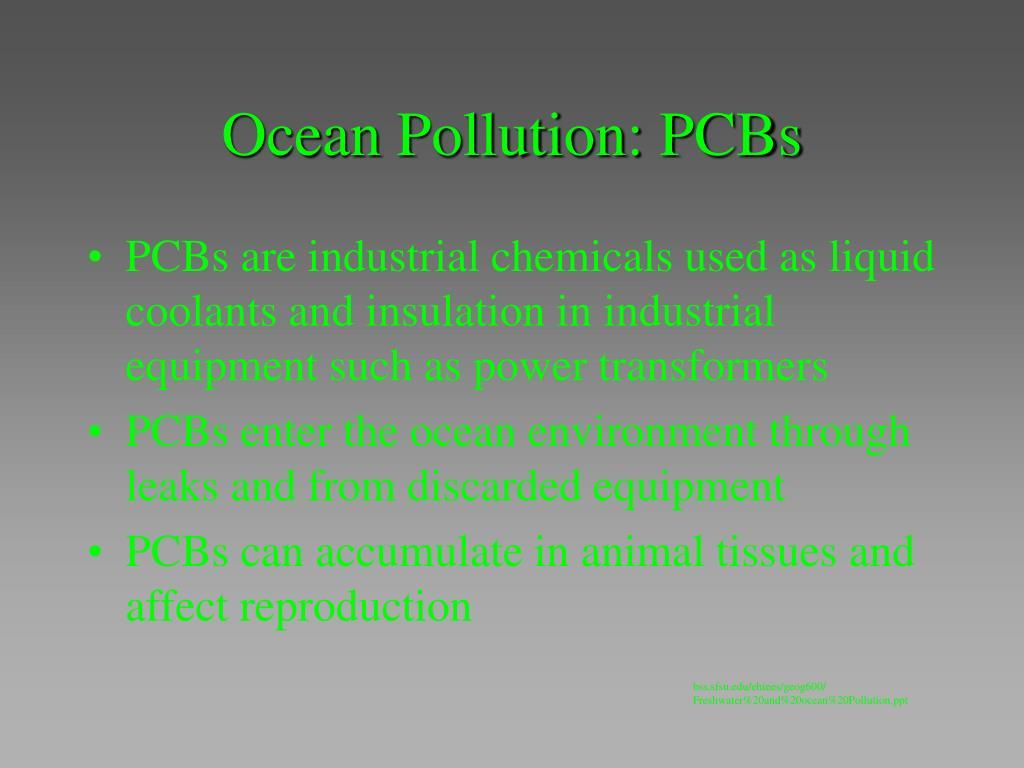 Ocean Pollution: PCBs