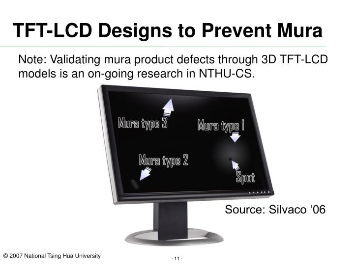 TFT-LCD Designs to Prevent Mura