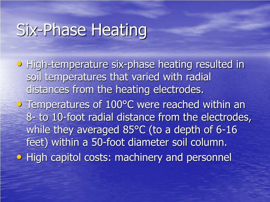 Six-Phase Heating