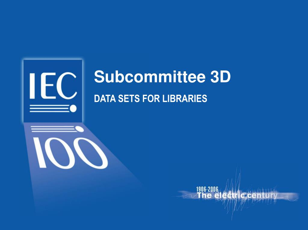 Subcommittee 3D