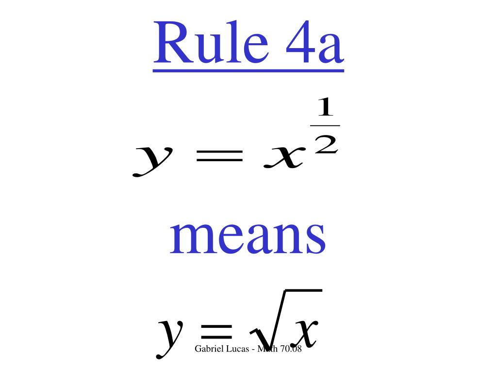 Rule 4a
