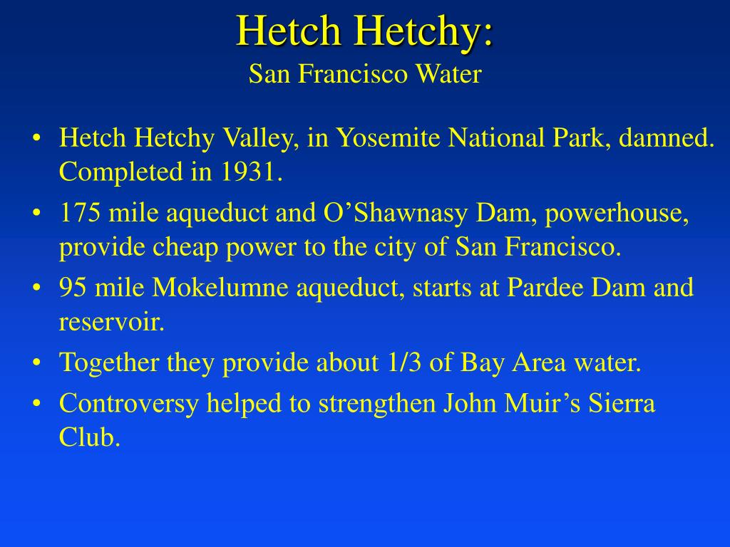 Hetch Hetchy: