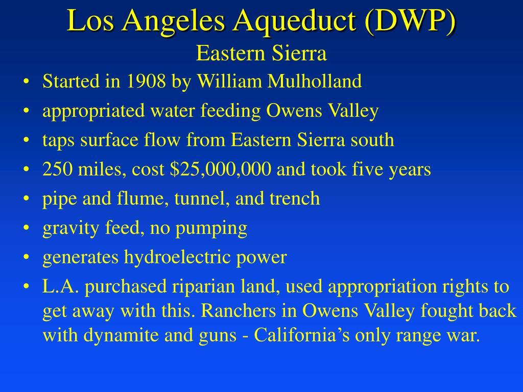 Los Angeles Aqueduct (DWP)